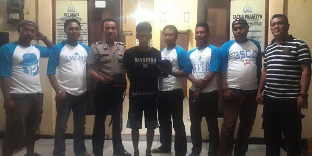 Rampas Kamera dan HP Milik Pelajar, Warga Mesuji Ditangkap Polsek Gedung Aji