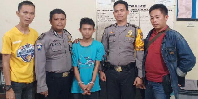 Polisi Tangkap Buronan Pelaku Curas di Tulang Bawang Barat