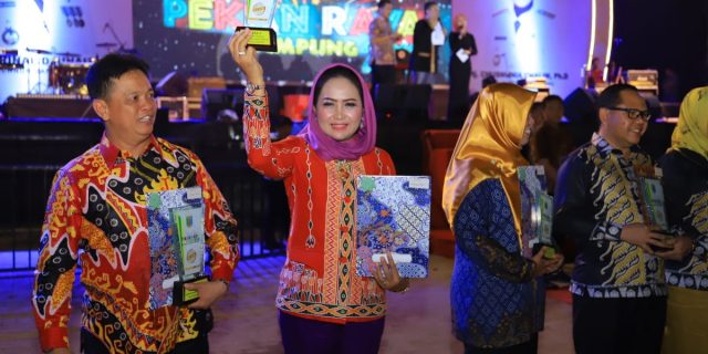 Malam Penutupan Pekan Raya Lampung