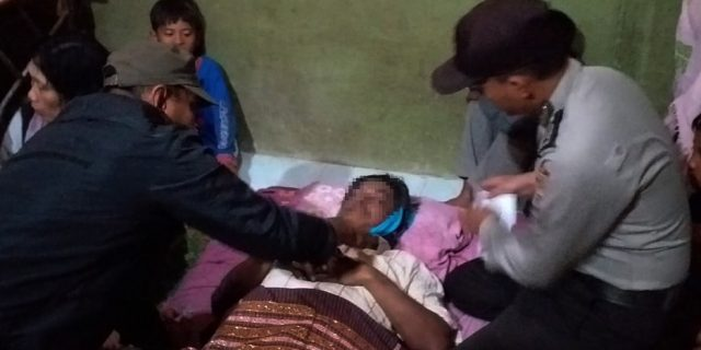 Polsek Rawa Jitu Selatan Indentifikasi dan olah TKP Atas Penemuan Sesosok Mayat Laki – laki