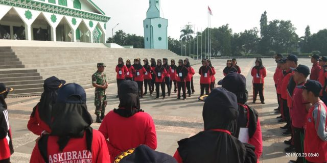 CPNS Kabupaten Tulang Bawang Dilatih PBB Oleh Kodim 0426