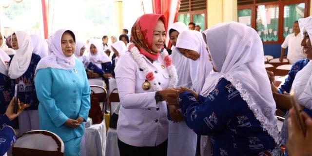 Hj. Winarti,SE,MH Menghadiri Rakerda Himpaudi 2018 – 2022
