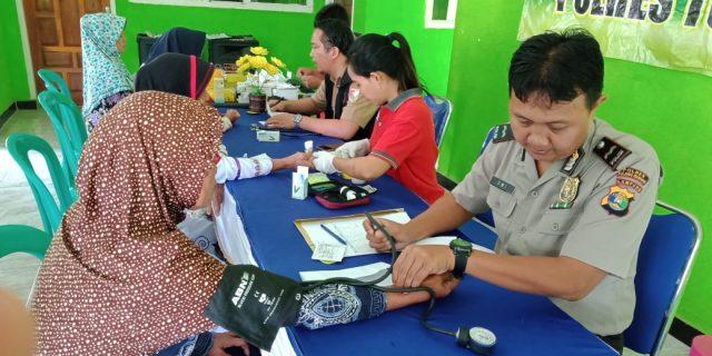 Polres Tuba Bersama Puskesmas Lakukan Pemeriksaan IVA dan Kesehatan