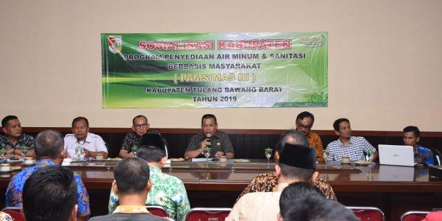 Kabupaten Tubaba Sosialisasi Program PAMSIMAS
