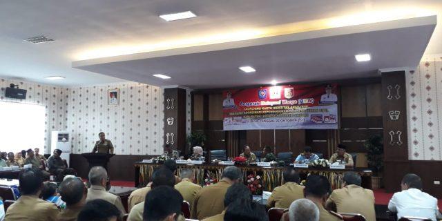 Disdukcapil se-Provinsi Lampung Menggelar Rako di Kab Tulang Bawang