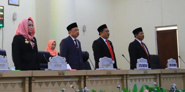 Sidang Paripurna Pelantikan Ketua dan Wakil Ketua DPRD Kab Tulang Bawang