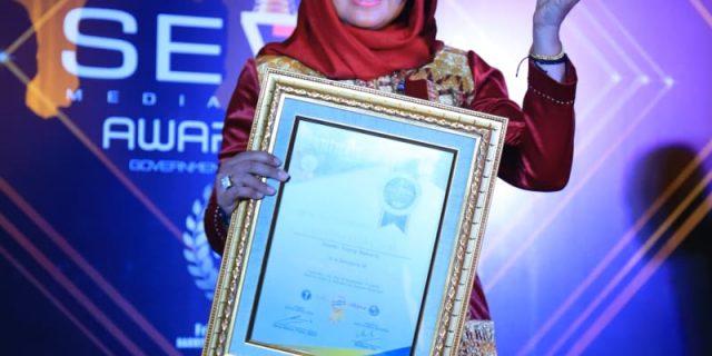 Hj. Winarti SE MH, Mendapat Perhatian dan Penghargaan Tingkat nasional