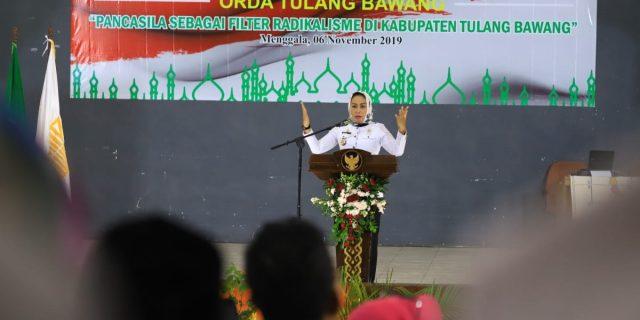 Hj. Winarti SE, MH Resmi Membuka Sarasehan Ikatan Cendekiawan Muslim Indonesia (ICMI)