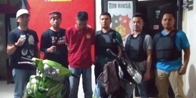 Polsek Tumijajar Tangkap Pelaku Curas Terhadap Pelajar dan Merupakan DPO Dua Kasus Curat