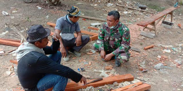 Kopda Aris Himbau Warga jaga Kebersihan Jelang Musim Penghujan