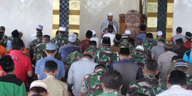 Dalam Rangka Hari Juang TNI- AD Tahun 2019,Kodim 0426 Tulang Bawang Laksanakan Doa Bersama