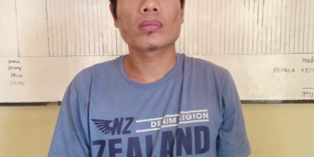 Mencuri di Rumah TNI, Robi Diringkus Polres Lampung Utara