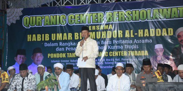 Wakil Bupati Tubaba Apresiasi dan Berbangga Hati Pada Pompes Qur'an Center