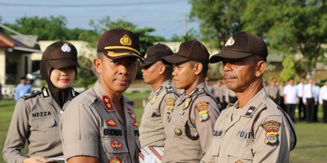 Upacara Hari Kesadaran Nasional, Kapolres Lampung Utara berikan Reward