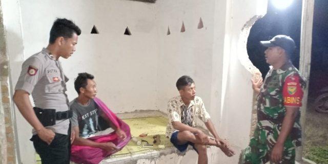 Sinergi TNI-Polri tercermin dari Kinerja Babinsa & Babinkamtibmas di Kampung Binaan.