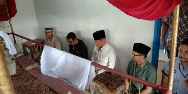 Kapolres Tubaba Ziarah Kemakam Raja Tulang Bawang Lampung Ke-IX, Ini Harapannya