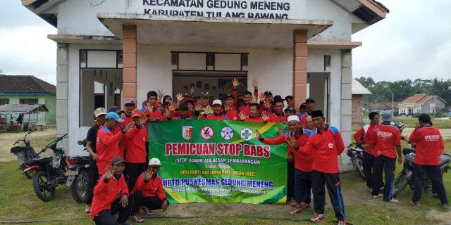 Dengan WC Cemlung, Serda Widiyanto Babinsa Koramil 426-02/Menggala, Katakan Tidak !