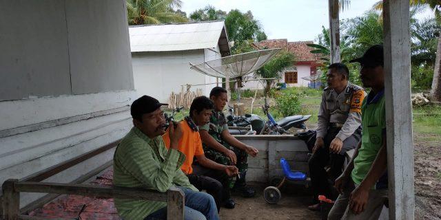 Babinsa Koramil 426-01/Mesuji dan Babinkamtibmas Sambangi Warga Binaan