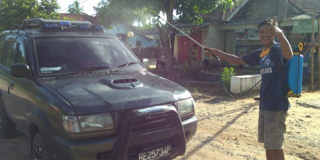 Samudi Kakam BTM, Bersama Warga dirikan Posko Pantau Covid-19