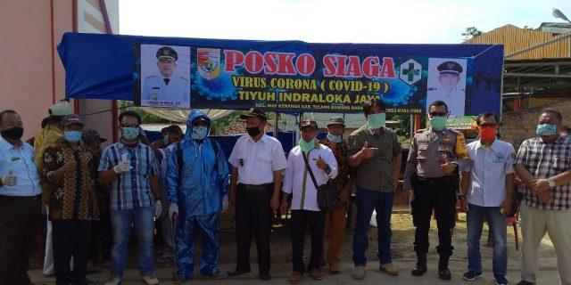 Waspada Corona, Tiyuh Indraloka Jaya Terjunkan 100 Relawan