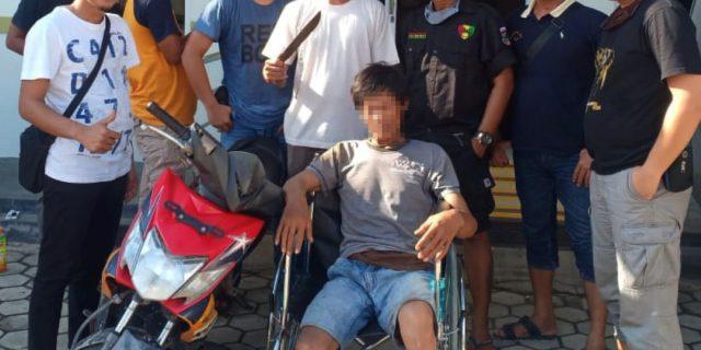 Curas Lapak Karet di Meraksa Aji Berhasil Ditangkap, Kapolsek Gd. Aji