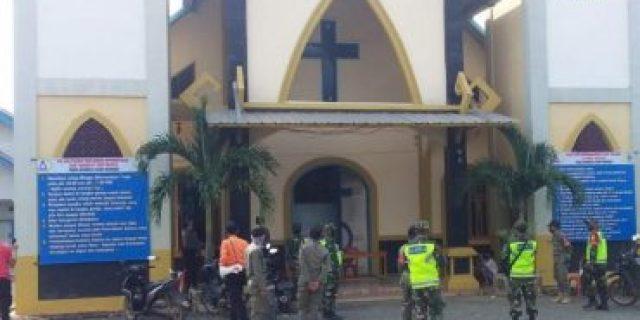 TNI, POLRI dan Aparatur Pemda Patroli Pendisiplinan Protokol Kesehatan di Kab.Mesuji