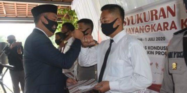 Bupati Tubaba Ikuti Rangkaian Peringatan Hut Bhayangkara