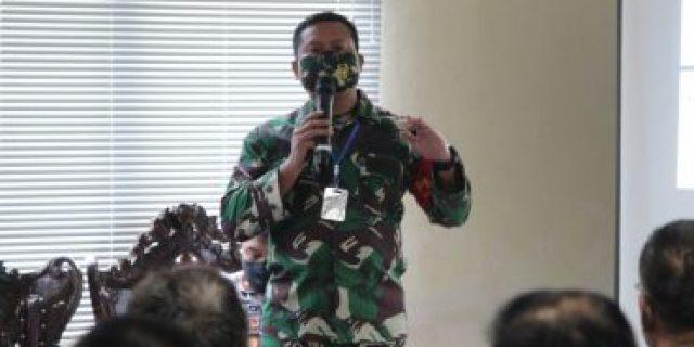 Dandim 0426 Paparkan Evaluasi Pelaksanaan Operasi Penegakan Disiplin Protokol Kesehatan di Kab. Mesuji.