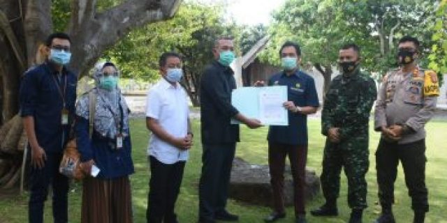 Bupati Umar Ahmad S.P, Terima Kunker Dan Cendramata Dari Kaban BPH MIGAS