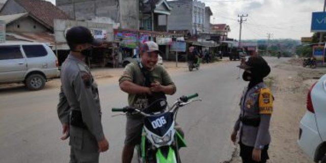 Empat Buruh Terjaring Operasi Yustisi di Kampung Sidoharjo, Langsung diSanksi