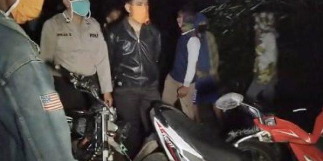 Polsek Menggala Bersama Petugas Gabungan, Kakam kagungan Dalam Pasang Police Line di THM