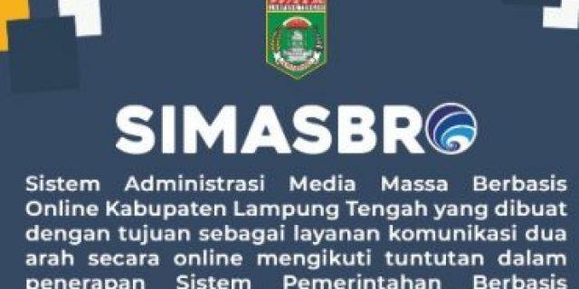 Kominfo Lamteng Batalkan Kerjasama Media Melalui SIMASBRO