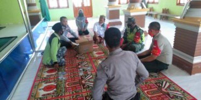 Serda Aji Siswanto mengajak Masyarakat Kampung Aji Permai Talang Buah untuk tetap Produktif di masa Pandemi Covid 19