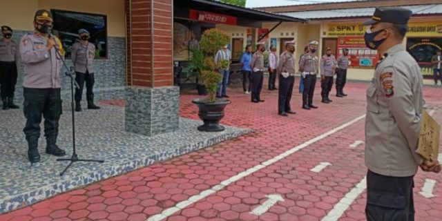 Polres Tubaba Siagakan Personil Guna Pengamanan di 57 Gereja