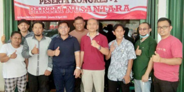 Usai kongres I,Ketum Partai Nusantara Ucapkan Terima Kasih dan Permohonan Maaf