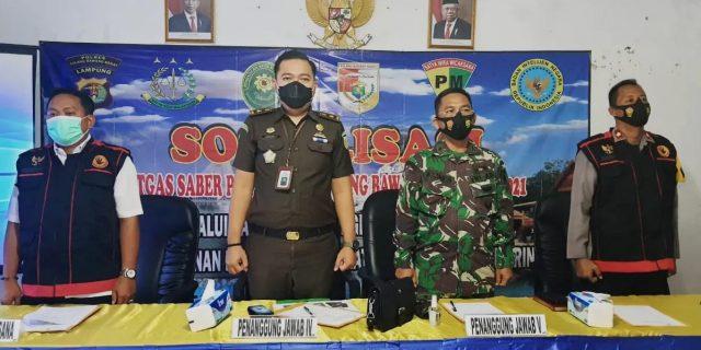 Sosialisasi Satgas Sapu Bersih Pungli Kab Tubaba 2021