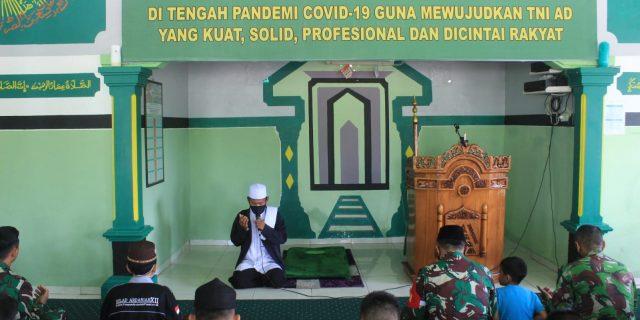 Kodim 0426/TB menggelar kegiatan Peringatan Nuzulul Qur'an 1442 H