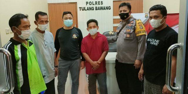 Polres Tulang Bawang Tangkap Pria 40 Tahun Yang Cabuli Anak Perempuan 6 Tahun