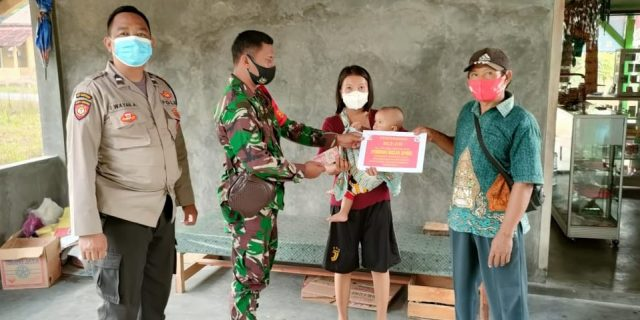 Serda Junaidi Kawal Penyaluran BLT Kampung Penawar Jaya