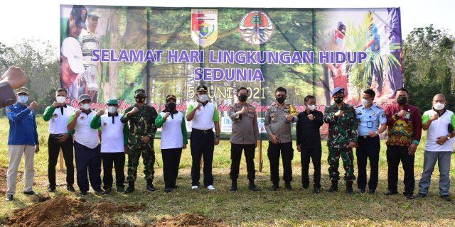 Umar Ahmad SP, Giat Menanam Pohon Dalam Rangka Peringati Hari Lingkungan Hidup Sedunia