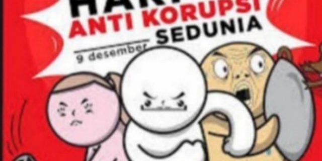 Kasi pidsus Tuba Peringati Hari Anti Korupsi