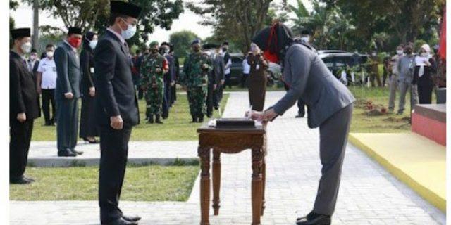 Ketua DPRD Sopi'i, S.,H Hadiri Pelantikan Pejabat di lingkungan Pemkab Tuba