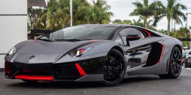 Lamborghini : Aventador LP700-4 Coupe 2-Door