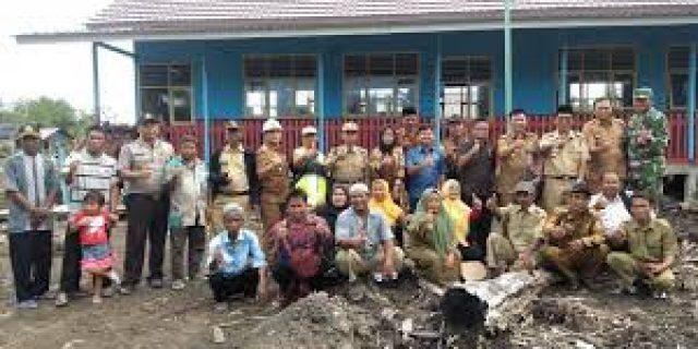 Komisi IV DPRD Tuba Tinjaua  Sekolah Yang Terdampak Kebanjiran